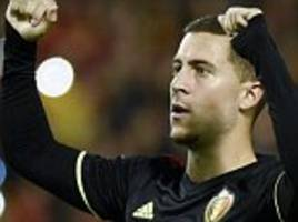 belgium 4-0 cyprus: nine wins out of 10 for martinez's men