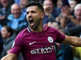 Manchester City striker Sergio Aguero returns to training