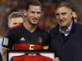 spurs' jan vertonghen becomes belgium's most capped player