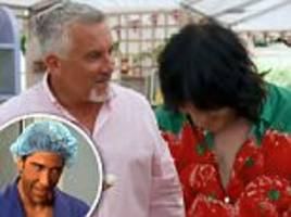 great british bake-off: paul hollywood's tan alarms fans
