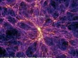 Half of the universe's 'missing matter' has been found
