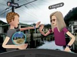 Mark Zuckerberg uses Spaces VR app to tour Puerto Rico