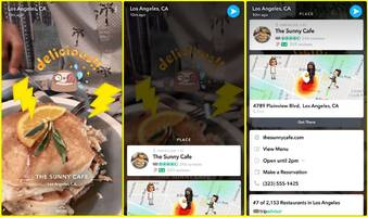 Snapchat dives further into search by partnering with TripAdvisor, OpenTable, Uber, and more (SNAP)