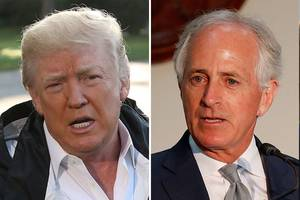 Donald Trump Mocks 'Liddle Bob Corker' in Latest Twitter Storm