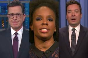 harvey weinstein scandal: how late-night hosts handled hollywood bombshell (video)