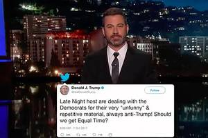 Jimmy Kimmel Dishes on His Twitter Beef With Donald Trump Jr About Harvey Weinstein (Video)