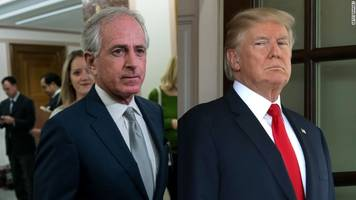 White House Slams Corker, Escalating 'Surreal Feud As NYT Releases Part Of Phone Recording