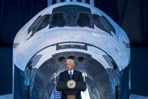 If Mike Pence wants to send NASA back to the Moon, he'll need to find a way to pay for it
