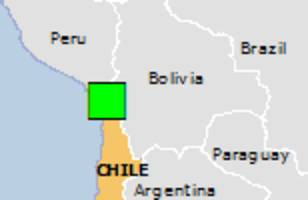 Green earthquake alert (Magnitude 6.3M, Depth:82.43km) in Chile 10/10/2017 06:32 UTC, 500000 people within 100km.