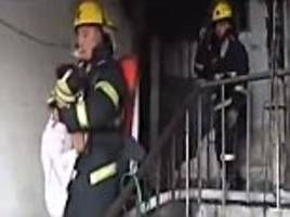 girl saves family from fire after throwing note in china