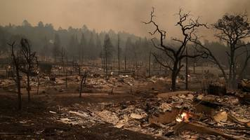 At Least 13 Killed By California Wildfires And 115,000 Acres Burned
