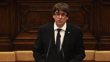 catalan leader says region won the right to be independent from spain