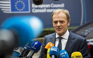"EU ""hoping"" for Brexit trade talks by December, says Tusk"