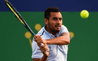 nick kyrgios apologises after quitting shanghai masters