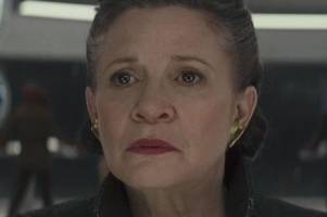 is carrie fisher in star wars: the last jedi?