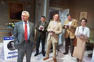 review: how was judge john deed actor martin shaw in opening night of the best man at theatre royal, bath?