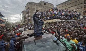 Kenya's Opposition Leader Odinga Withdraws From Presidential Election Rerun