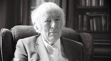 contemplative, kindly, unassuming: the never before seen photographs of seamus heaney that capture the soul of the poet