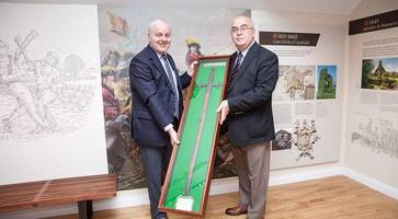 sword of jacobite who fought king william on display at orange museum