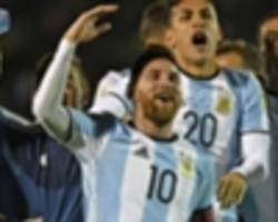 messi can still become the hero for argentina that he is for barcelona