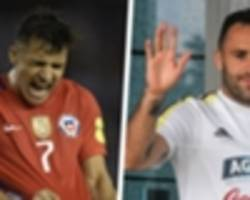 video: ospina helps knock alexis sanchez out of world cup after incredible free-kick blunder