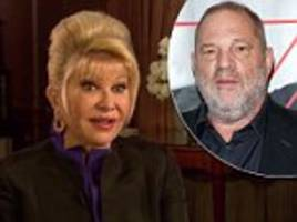ivana trump says what harvey weinstein did is disgusting