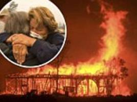 California wildfires leave 15 dead and 183 missing