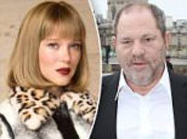 léa seydoux says she was victimized by weinstein in paris