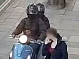 moped gang who targeted george osborne jailed for 13 years