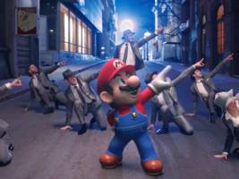 nintendo made a delightful live-action music video starring super mario