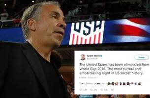 American Nightmare: Social media reacts to USMNT's failure to qualify for the 2018 World Cup
