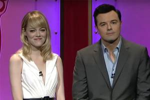 that time seth macfarlane joked about actresses who 'pretend to be attracted to harvey weinstein' (video)