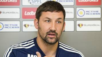 hamilton academical manager martin canning targets points haul