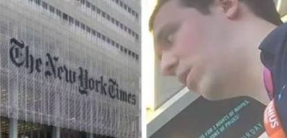 O'Keefe Drops Part 2: NYT Editor Brags About Colluding With YouTube To Push Political Agenda