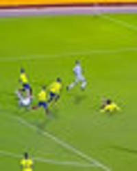 watch lionel messi's jaw-dropping hat-trick goal that secured argentina's world cup place