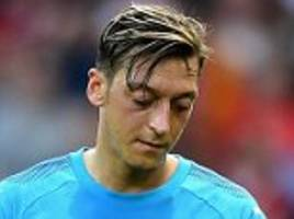 ozil has held 'positive talks' over new arsenal contract