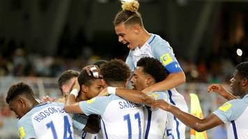 under-17 world cup: england through to the last 16 in india
