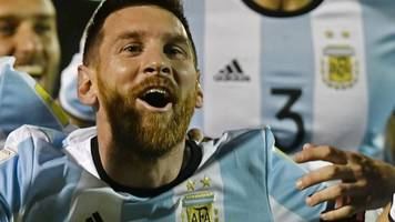world cup 2018: lionel messi hat-trick fires argentina to russia