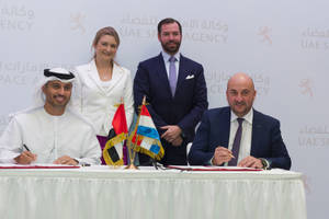 Luxembourg and the United Arab Emirates to Cooperate on Space Activities with Particular Focus on the Exploration and Utilization of Space Resources
