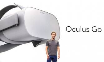Oculus 'Go' is Facebook's new $199 VR headset that doesn't require a PC or phone