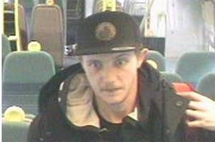 Police hunt man who exposed and touched himself while looking at a woman on an East Croydon train