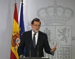Spain's Prime Minister May Suspend Catalan Parliament if Independence Declared