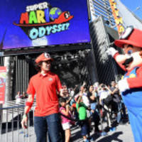 Photos of the Nintendo Mario's Odyssey Event at Universal CityWalk are Available on Business Wire's Website and the Associated Press Photo Network