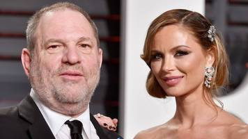 Harvey Weinstein: Wife Georgina Chapman leaves accused producer
