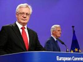EU chiefs give green light on post-Brexit trade deal talks