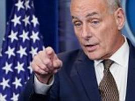 john kelly: i'm not quitting and i'm not getting fired