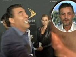 Mexican star Eduardo Yanez attacks reporter on red carpet