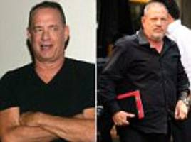 tom hanks speaks out amid escalating weinstein scandal