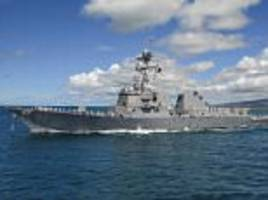 china sends warship to chase off us destroyer