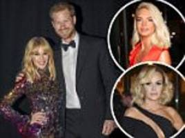 prince harry joins glamorous stars at the attitude awards